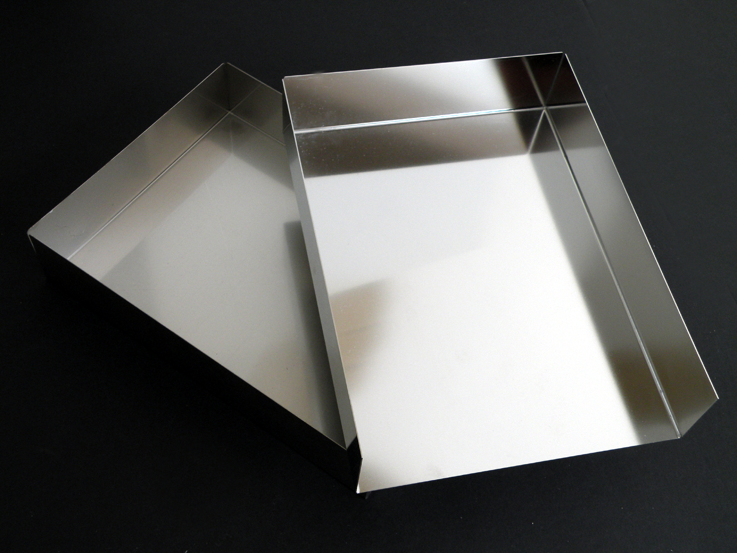 Stainless Tray and Lid