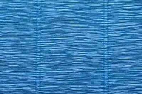 557 Бумага гофрированная синяя 180 гр