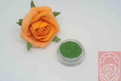 Ворсовая пудра (пыльца) светло-зеленая