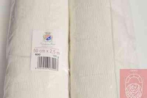 600 Бумага гофрированная белая 180 гр
