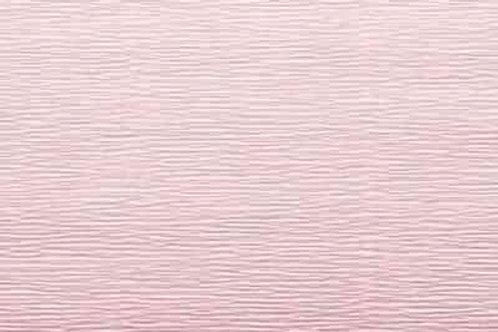 548 Бумага гофрированная бледно-розовая 180 гр