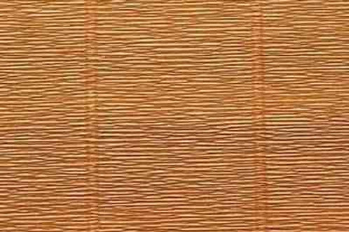 567 Бумага гофрированная светло-коричневая 180 гр