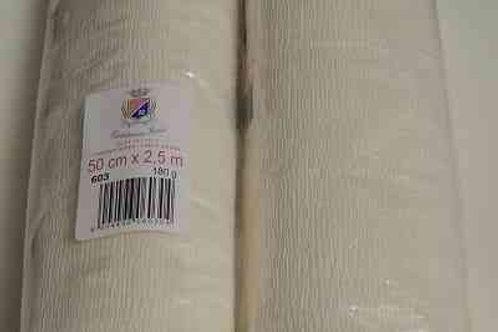 603 Бумага гофрированная слоновая кость 180 гр