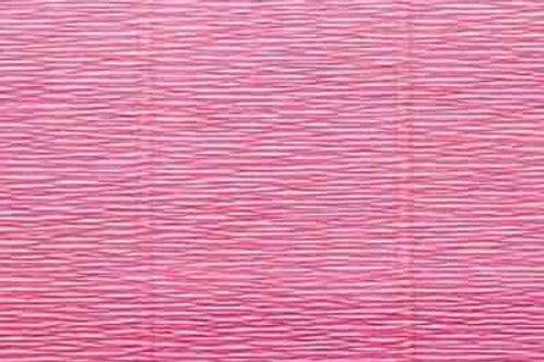 971 Бумага гофрированная розово-персиковая 140 гр