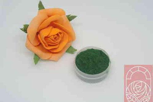 Ворсовая пудра (пыльца) зеленая
