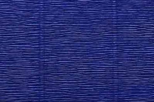 555 Бумага гофрированная темно-синяя 180 г