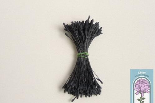 Тычинки каплевидные чёрные