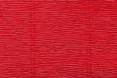589 Бумага гофрированная темно-красная 180 гр