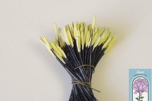 тычинки для тюльпана желтая головка