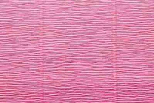 571 Бумага гофрированная розово-персиковая 180 гр