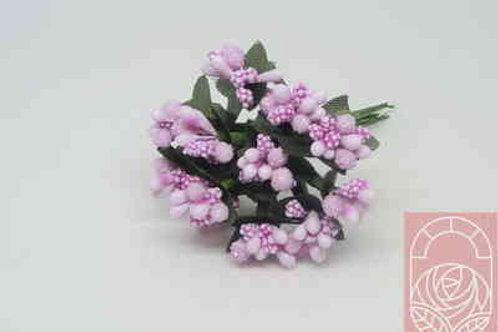 Тычинки  букет цвет светло-розовый