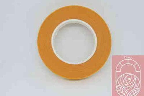 Флористическая тейп-лента темно-оранжевая