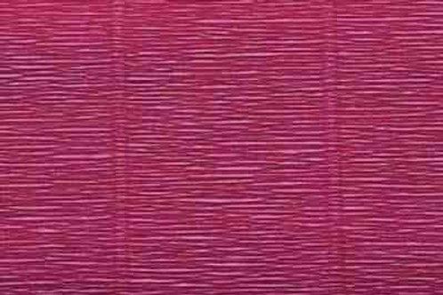584 Бумага гофрированная бордовая 180 гр
