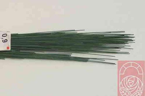 Проволока флористическая зеленая-d-0,9 мм