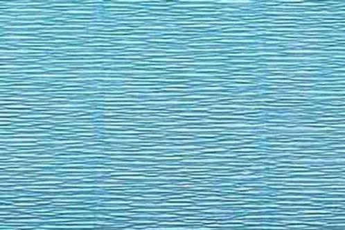556 Бумага гофрированная голубая 180 гр