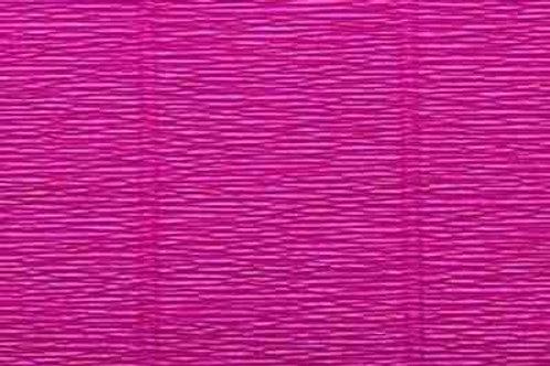 572 Бумага гофрированная темно-малиновая 180 гр