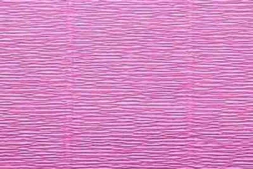550 Бумага гофрированная пастельно-розовая 180 гр