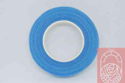 Флористическая тейп-лента светло-синяя