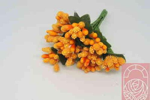 Тычинки букет цвет оранжевый