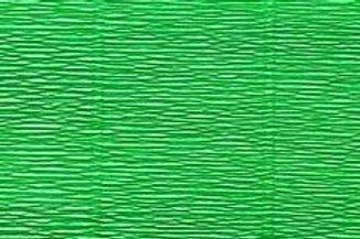 563 Бумага гофрированная ярко-зеленая