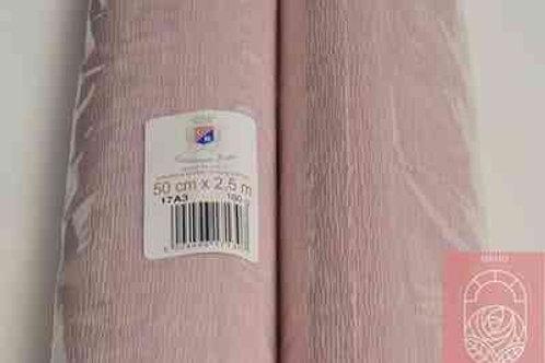 17А3 Бумага гофрированная дымчатая роза 180 гр