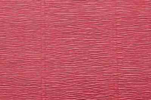 947 Бумага гофрированная темно-розовая 140 гр
