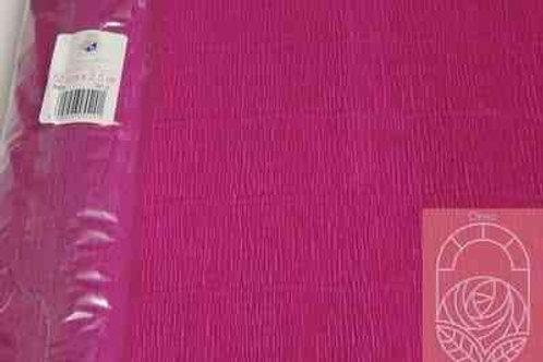 552 Бумага гофрированная малиновая 180 гр
