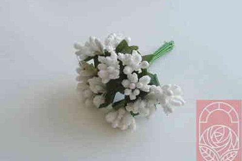 Тычинки букет цвет белый