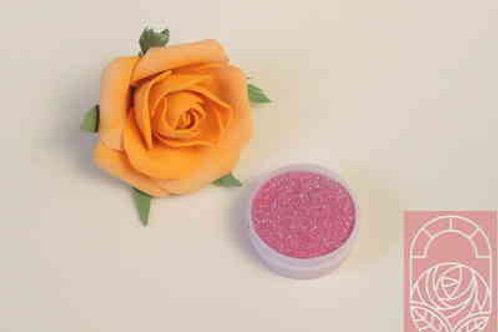 Блестки (глиттер) светло-розовые мелкие