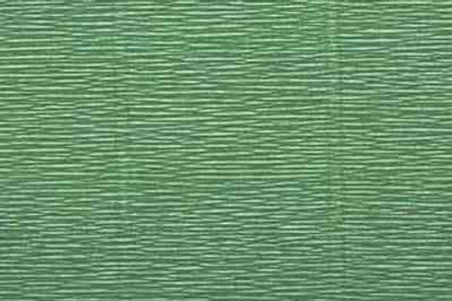 565 Бумага гофрированная светло-зеленая 180 гр