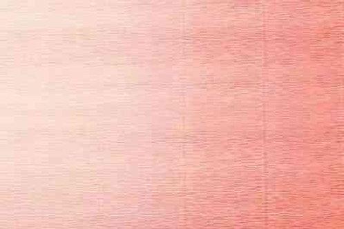 17А7 Бумага гофрированная переход светло-персиковый 180 гр