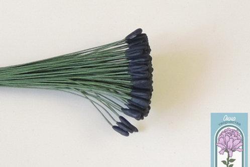 Тычинки для тюльпана черные