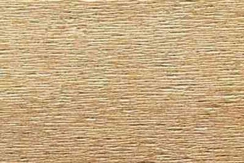 807 Бумага гофрированная металлизированная темное золото 180 гр