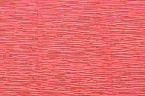 17А6 Бумага гофрированная нежно-красная 180 гр