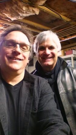 Al & LJ at Al's Studio 4-26-14.jpg