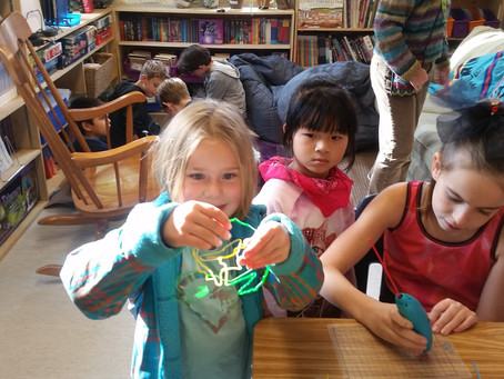 Maker Spaces with Little Buddies