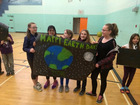 Happy Earth Day from Grade 5/6
