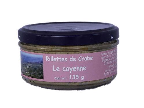 RILLETTES DE CRABE 135g