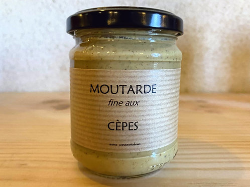 MOUTARDE AUX CEPES