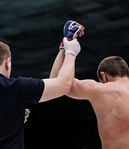 Бокс Победитель матча