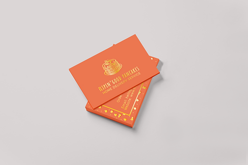 Scodix Foil Business Cards Design Service