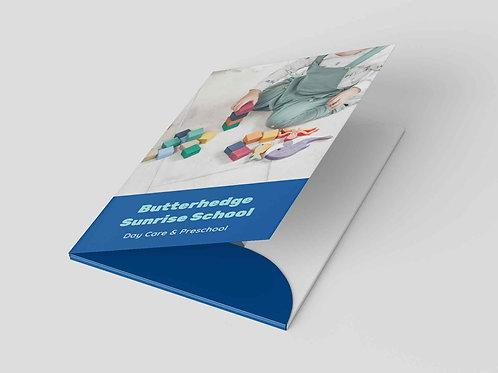 Presentation Folders - Interlocking (A4) Design Service