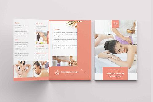 Presentation Folders - Glued (A5) Design Service