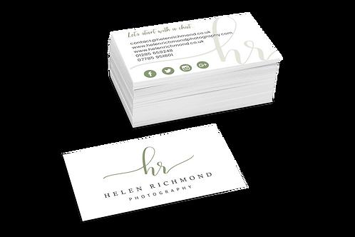 Premium Business Cards Design Service