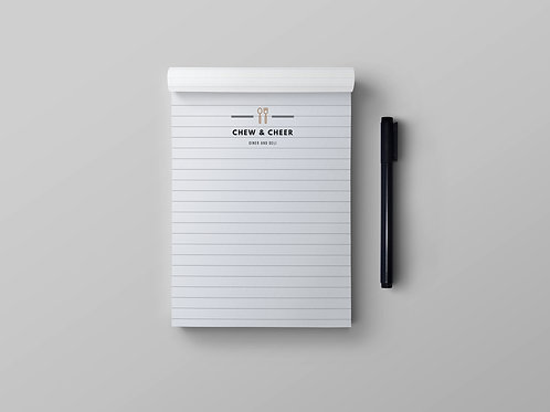 Personalised Notepads Design Service