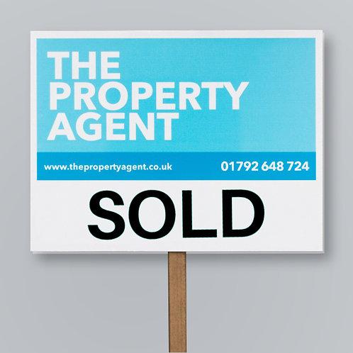 Estate Agent Boards: FOR SALE & SOLD SIGNS Design Service