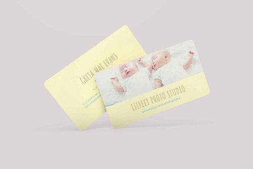 Rounded Corner Business Cards Design Service