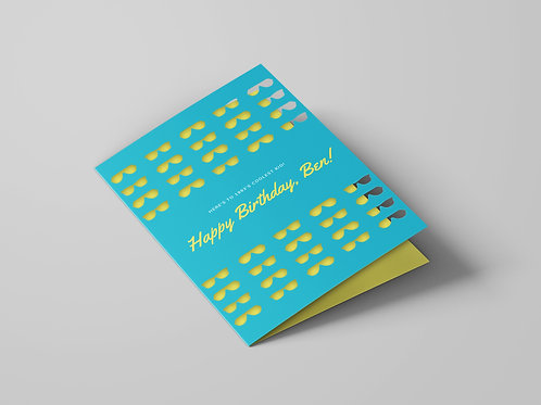 LASER CUT CARDS DESIGN SERVICE