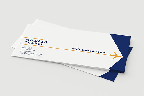 COMPLIMENT SLIPS & CARDS