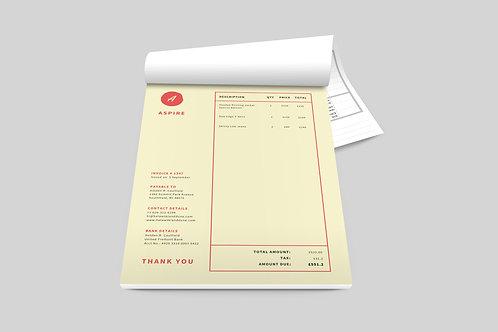NCR Pads & Forms Design Service